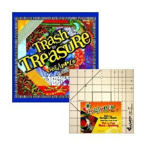 Trash and treasure pineapple quilts