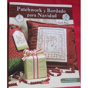 Patchwork y bordado para navidad. Gail pain