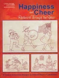 Happiness and Cheer.Redwork through the year
