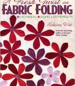 A fresh twist on fabric folding