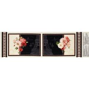 2 Mantelitos con flores