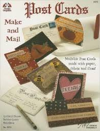 Post cards.Tarjetas postales de tela y fieltro