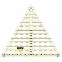 Regla triángulo 20 cm de patchwork.Ideas