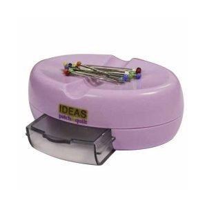 Soporte magnético para alfileres rosa