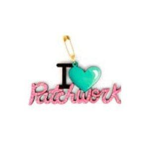 Botón I love patchwork
