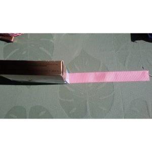 Cinta rosa de groge 28 mm