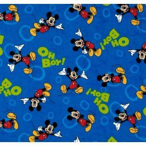 Franela.Micky mouse sobre azul