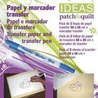 Pack de 3 hojas transfer con rotulador