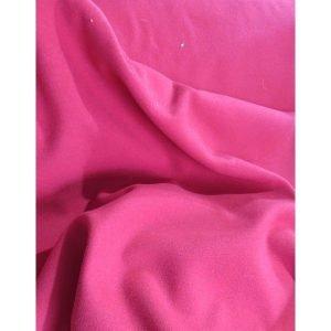 Tela de mouflón color rojo