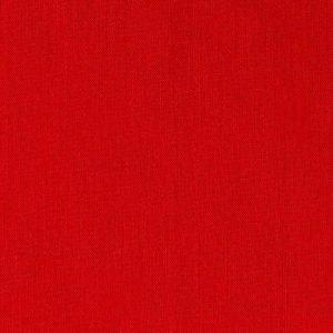 Tela lisa de color rojo de 1.50 de ancho
