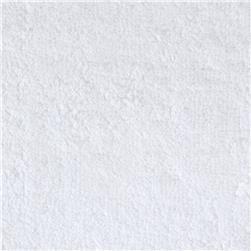 Tela de rizo o felpa de color blanca (Ancho1,50cm)