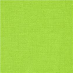 Tela lisa verde pistacho de 1.50 de ancho