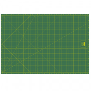 Base de corte de 94x64 cm ideas verde.