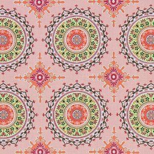 Mandalas sobre rosa claro . Marrakesch (1-40)
