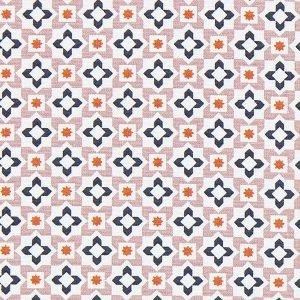 MosaÍco en rosa y azul. Marrakesch (1-40)
