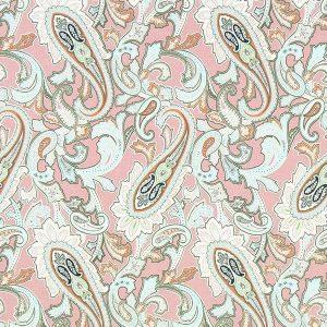 Cachemir de colores sobre rosa. Marrakesch (QUEDAN 15 CM)