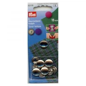 Botones de forrar de 15mm de prym