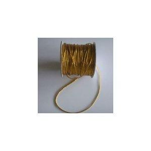 Cordón dorado fino de 2mm por metros