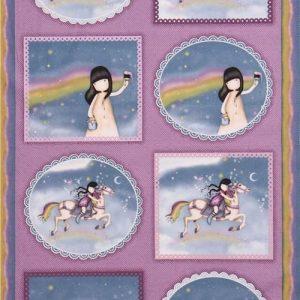 Panel Gorjuss.Rainbow dreams